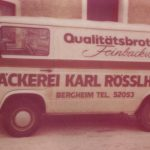 Alter Bäckerei-Lieferbus
