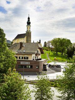 Bäckerei Rösslhuber - Backstube, Café und Zentrale in Bergheim
