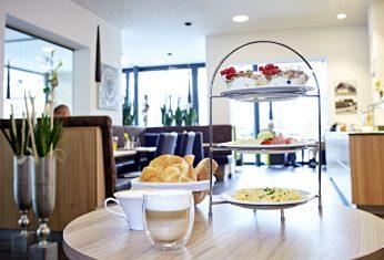 Frühstück in Bergheim bei Salzburg