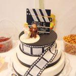 Hochzeits-Filmtorte