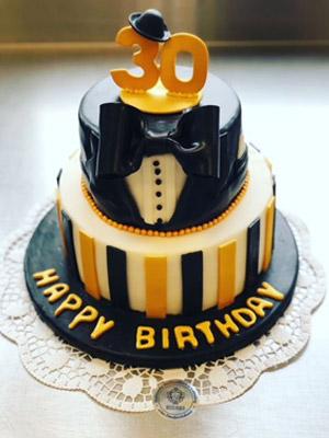 30-Jahre Geburtstags Motivtorte
