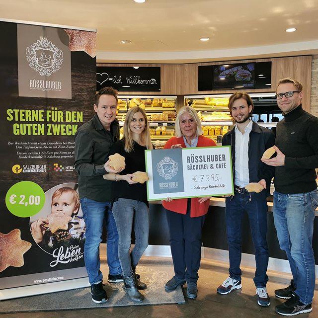 Zimsterne Spendenaktion Kinderkrebshilfe Salzburg